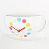 (ktk026) 커피잔 시계 (파스텔)