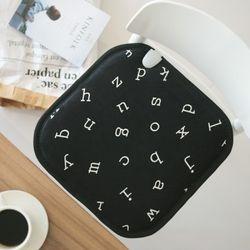 알파벳 전기방석 [1인용]
