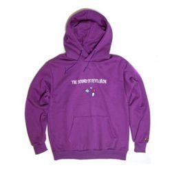 Revolution napping hoody(Violet)