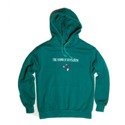 Revolution napping hoody(emerald green)