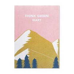 [무료배송] THINK GREEN DIARY ver.2 - pink
