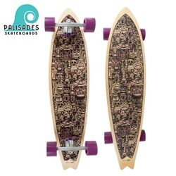 [PALISADES] 38 FALSE IDOLS PURPLE LONGBOARD