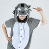 [스위트홀릭]반팔 동물잠옷-눈빛작렬 늑대