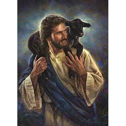 1000조각 직소퍼즐 - 어린양을 업으신 예수(EU8-0707)