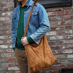 [깅엄버스]스웨이드매듭백카멜suede knots bag camel