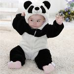 포근 따뜻한 팬더곰 우주복(6-24개월) 202851