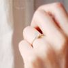 full moon- 저녁달빛 문스톤 ring (6월 탄생석)