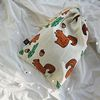 forest linen pouch