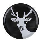 Deer 우드트레이 38cm (라운드 블랙)