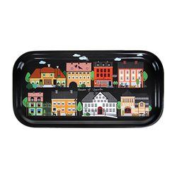 Houses of Uppsala 우드트레이 43x22cm (블랙)