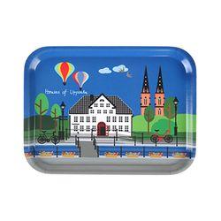 Houses of Uppsala 우드트레이 27x20cm (우플란드)