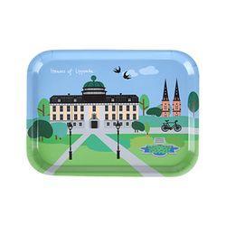 Houses of Uppsala 우드트레이 27x20cm (뮤지움)