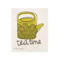 Tea Time 스웨덴 행주 (올리브)