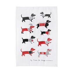 Molly Red Teatowel 티타올 (레드)