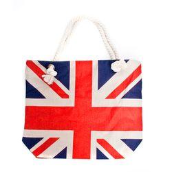 빈티지 영국국기 에코백