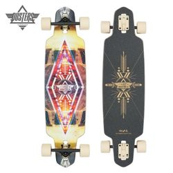 36 LITE MULTI CARBON HOLLOW DROP THROUGH LONGBOARD