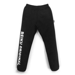[레이쿠] original typo pants black unisex 트레이닝