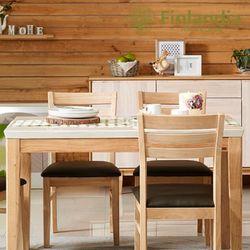 핀란디아 세레스 4인대리석식탁세트(의자4)
