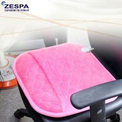 제스파 극세사전기방석 발방석겸용 OPR006 핑크 와인