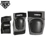 SMITH SCABS YOUTH 3-PACK SAFETY GEAR SET (Checker)