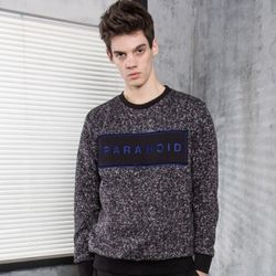 PARANOID KNIT CREWNECK PM151029-05 BLACK