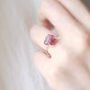 힐링스톤- 핑크 투어멀린 ring (10월 탄생석)