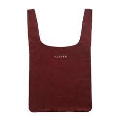 Burgundy-shopping bag