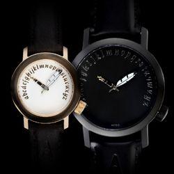 악테오Writer(42mm 28mm)커플시계여성손목시계
