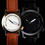 악테오Writer(42mm 34mm)커플시계남성손목시계