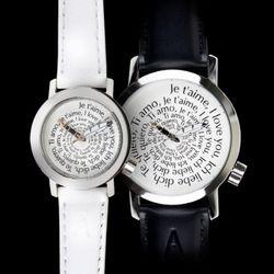 악테오Valentine(42mm lady-white)커플손목시계