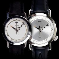 악테오Doctor 커플시계스위스무브먼트손목시계