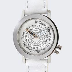 악테오ValentineLady(white)스위스무브먼트손목시계
