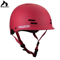 [PREDATOR]  FR7 CERTIFIED HELMET (Red)