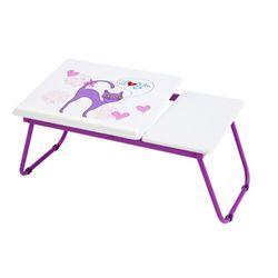 큐티 노트북 테이블 바이올렛