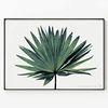 메탈 모던 거실 인테리어 야자수 대형 액자 나뭇잎 B