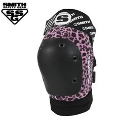 [SMITH] SCABS ELITE LEOPARD KNEE PADS (PinkBlack)