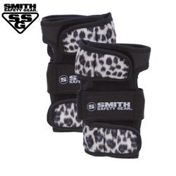 [SMITH] SCABS ELITE LEOPARD WRIST GUARDS (White)