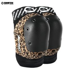 SMITH SCABS ELITE LEOPARD KNEE PADS(LeopardBlack)