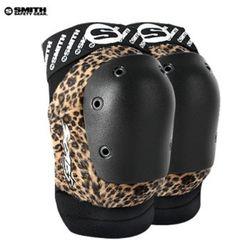 SMITH SCABS ELITE LEOPARD KNEE PADS(LeopardBlack)