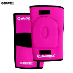 [SMITH]SCABS KNEE GASKET HORSESHOE PADS (Pink)
