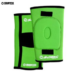 [SMITH]SCABS KNEE GASKET HORSESHOE PADS (Green)
