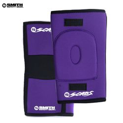 [SMITH]SCABS KNEE GASKET HORSESHOE PADS (Purple)