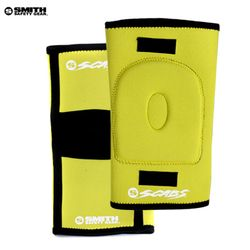 [SMITH]SCABS KNEE GASKET HORSESHOE PADS (Yellow)