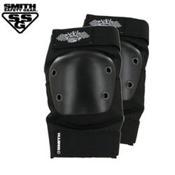 [SMITH]SCABS CROWN ELBOW PADS (BlackBlack)