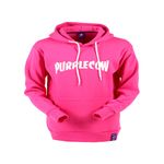 PURPLECOW Arch Logo Tall Hood Pink