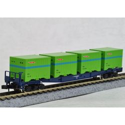 [2756] JNR 코키10000형 화차(컨테이너포함-N 게이지)