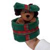 선물상자 속 강아지 핸드퍼펫