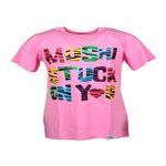 MUSHI SS TALL T W1111 STUCK ON YOU PINK