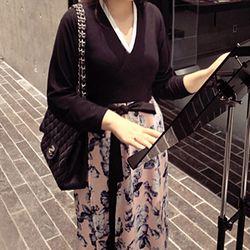 [다함한복]목련 랩원피스 (생활한복)