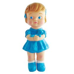 Rubber Doll-Girl Blue